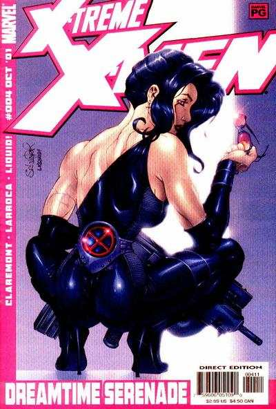 X-Treme X-Men #4 comic books - cover scans photos X-Treme X-Men #4 comic books - covers, picture gallery