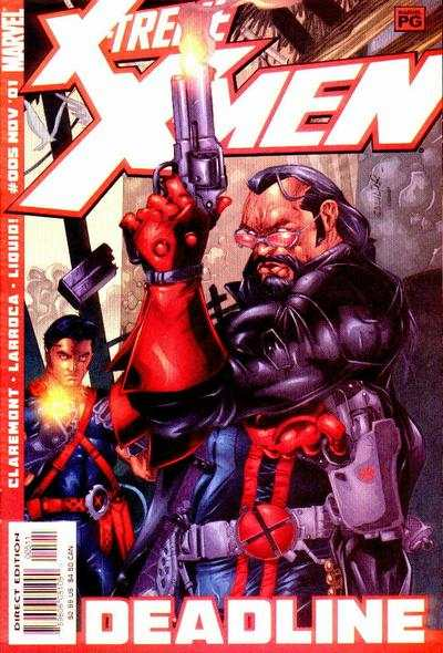X-Treme X-Men #5 comic books - cover scans photos X-Treme X-Men #5 comic books - covers, picture gallery