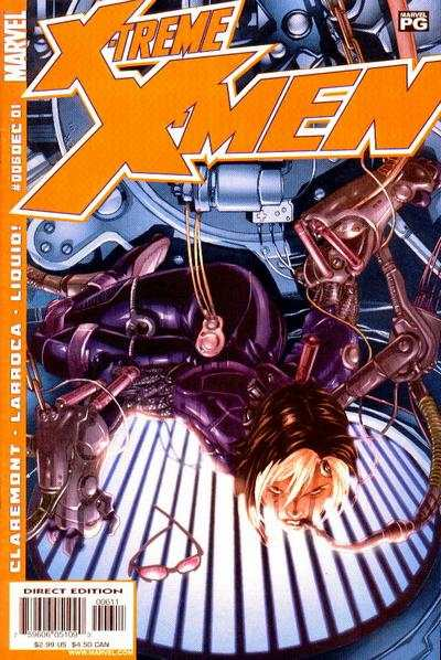 X-Treme X-Men #6 comic books - cover scans photos X-Treme X-Men #6 comic books - covers, picture gallery