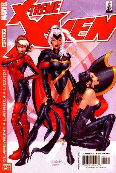 X-Treme X-Men #7 comic books - cover scans photos X-Treme X-Men #7 comic books - covers, picture gallery