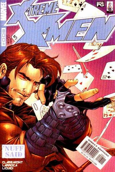 X-Treme X-Men #8 comic books - cover scans photos X-Treme X-Men #8 comic books - covers, picture gallery