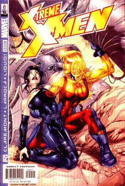 X-Treme X-Men #9 comic books - cover scans photos X-Treme X-Men #9 comic books - covers, picture gallery
