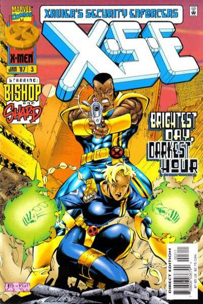 XSE #3 Comic Books - Covers, Scans, Photos  in XSE Comic Books - Covers, Scans, Gallery