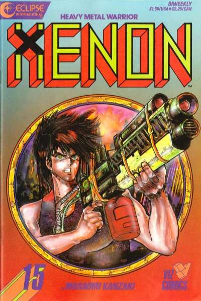 Xenon #15 comic books for sale