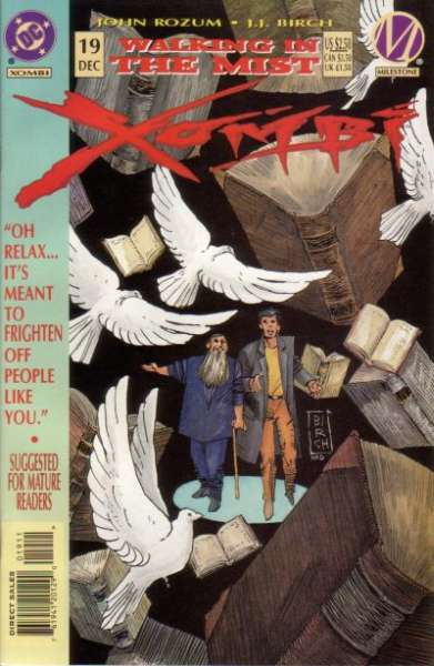 Xombi #19 Comic Books - Covers, Scans, Photos  in Xombi Comic Books - Covers, Scans, Gallery