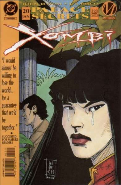 Xombi #20 comic books for sale
