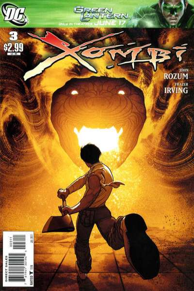 Xombi #3 comic books for sale