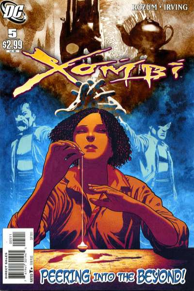 Xombi #5 Comic Books - Covers, Scans, Photos  in Xombi Comic Books - Covers, Scans, Gallery
