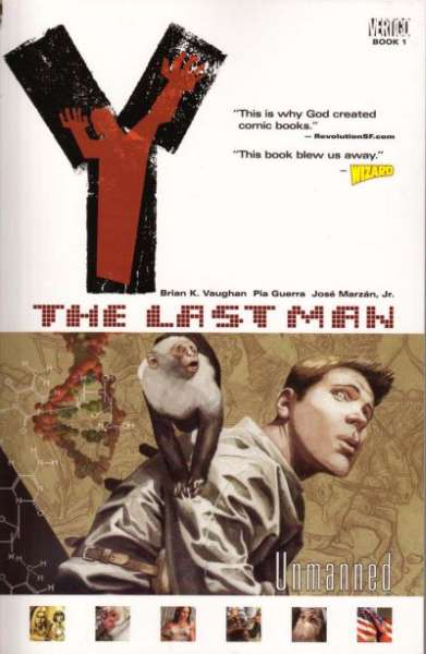 Y: The Last Man #1 comic books - cover scans photos Y: The Last Man #1 comic books - covers, picture gallery