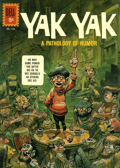 Yak Yak #1 comic books - cover scans photos Yak Yak #1 comic books - covers, picture gallery