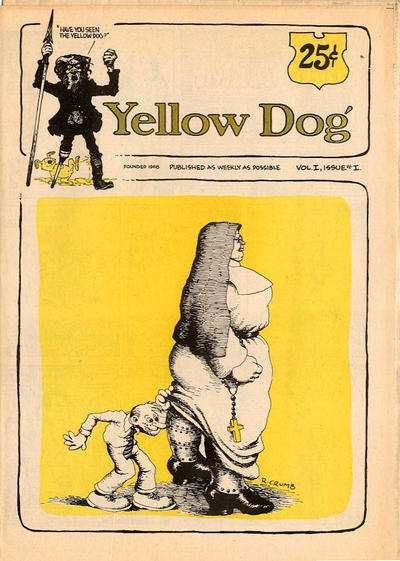 Yellow Dog Comix comic books