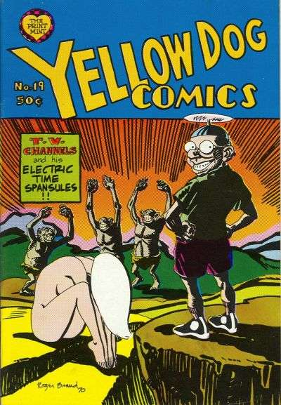Yellow Dog Comix #19 Comic Books - Covers, Scans, Photos  in Yellow Dog Comix Comic Books - Covers, Scans, Gallery