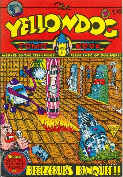 Yellow Dog Comix #23 Comic Books - Covers, Scans, Photos  in Yellow Dog Comix Comic Books - Covers, Scans, Gallery