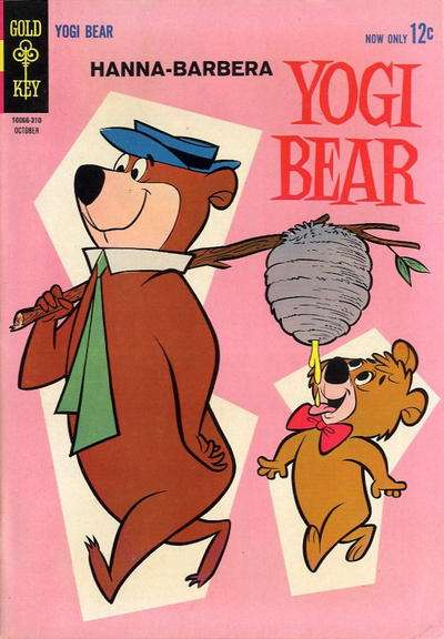 Yogi Bear #14 Comic Books - Covers, Scans, Photos  in Yogi Bear Comic Books - Covers, Scans, Gallery