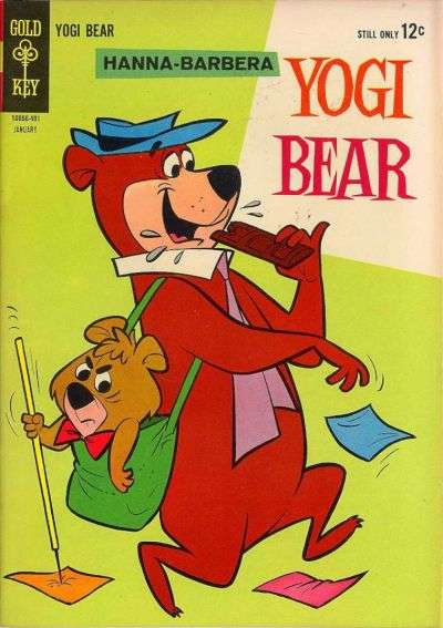 Yogi Bear #15 Comic Books - Covers, Scans, Photos  in Yogi Bear Comic Books - Covers, Scans, Gallery