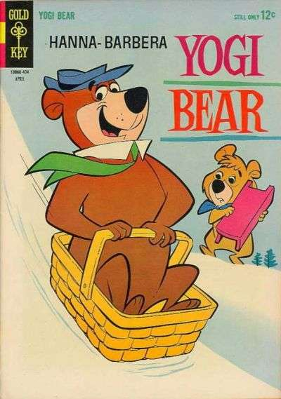 Yogi Bear #16 comic books - cover scans photos Yogi Bear #16 comic books - covers, picture gallery