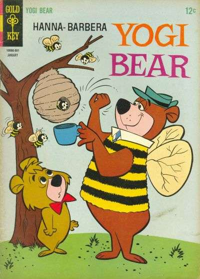 Yogi Bear #19 Comic Books - Covers, Scans, Photos  in Yogi Bear Comic Books - Covers, Scans, Gallery