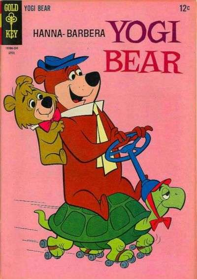 Yogi Bear #20 comic books - cover scans photos Yogi Bear #20 comic books - covers, picture gallery