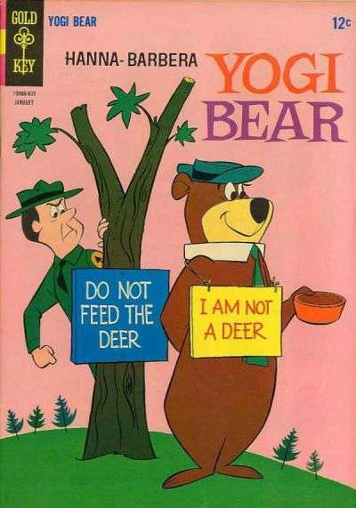 Yogi Bear #23 Comic Books - Covers, Scans, Photos  in Yogi Bear Comic Books - Covers, Scans, Gallery