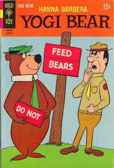 Yogi Bear #34 Comic Books - Covers, Scans, Photos  in Yogi Bear Comic Books - Covers, Scans, Gallery