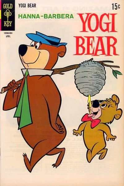 Yogi Bear #36 comic books - cover scans photos Yogi Bear #36 comic books - covers, picture gallery