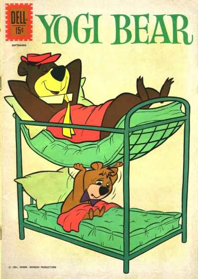 Yogi Bear #4 comic books - cover scans photos Yogi Bear #4 comic books - covers, picture gallery