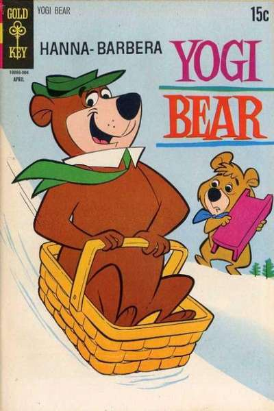 Yogi Bear #40 comic books - cover scans photos Yogi Bear #40 comic books - covers, picture gallery