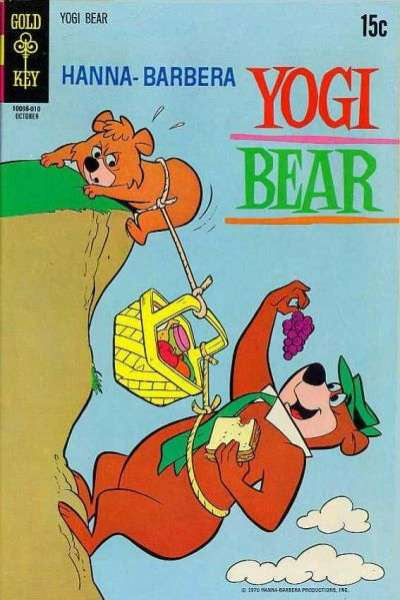 Yogi Bear #42 cheap bargain discounted comic books Yogi Bear #42 comic books