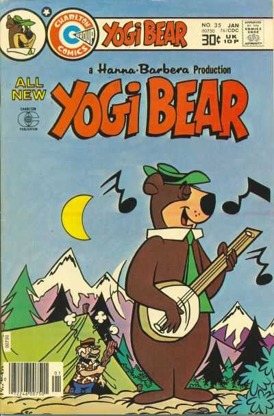 Yogi Bear #35 comic books for sale