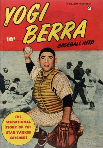 Yogi Berra #1 comic books - cover scans photos Yogi Berra #1 comic books - covers, picture gallery