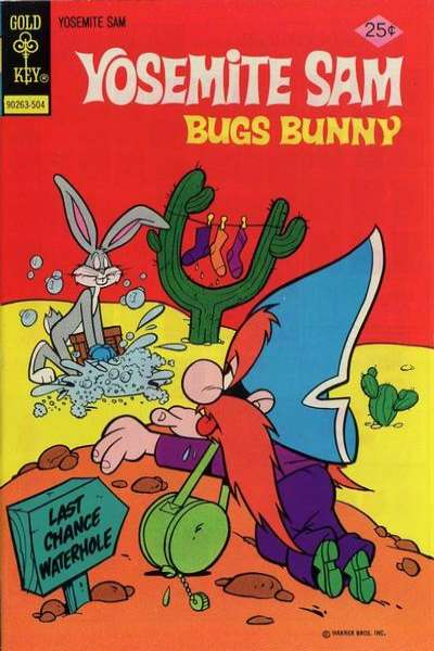 Yosemite Sam #27 Comic Books - Covers, Scans, Photos  in Yosemite Sam Comic Books - Covers, Scans, Gallery