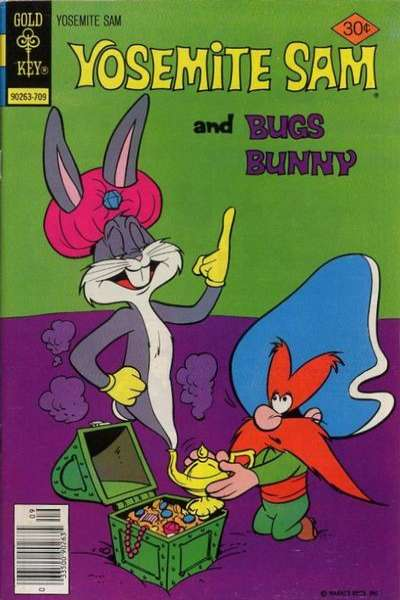 Yosemite Sam #47 Comic Books - Covers, Scans, Photos  in Yosemite Sam Comic Books - Covers, Scans, Gallery