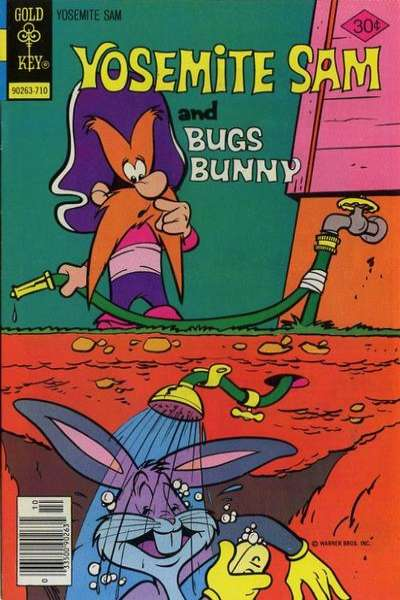 Yosemite Sam #48 Comic Books - Covers, Scans, Photos  in Yosemite Sam Comic Books - Covers, Scans, Gallery