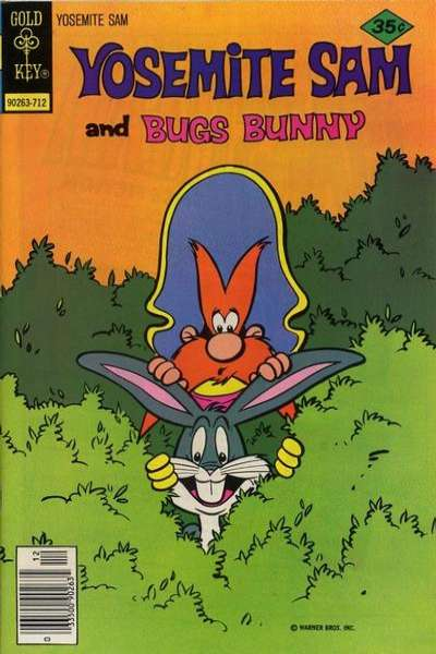 Yosemite Sam #49 Comic Books - Covers, Scans, Photos  in Yosemite Sam Comic Books - Covers, Scans, Gallery