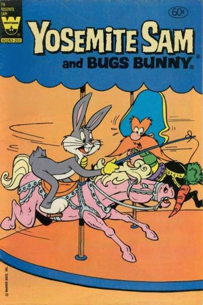Yosemite Sam #76 Comic Books - Covers, Scans, Photos  in Yosemite Sam Comic Books - Covers, Scans, Gallery