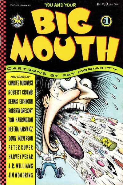 You and Your Big Mouth comic books