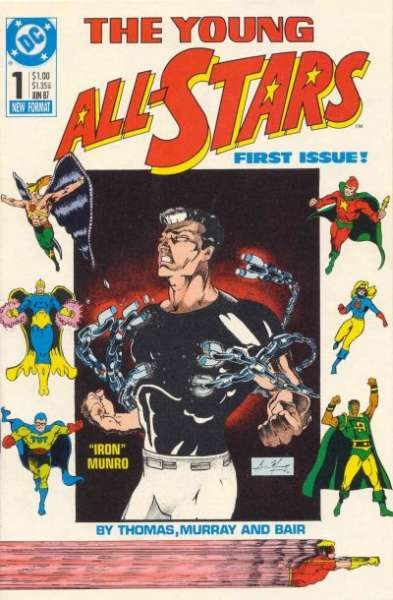 Young All-Stars # comic book complete sets Young All-Stars # comic books