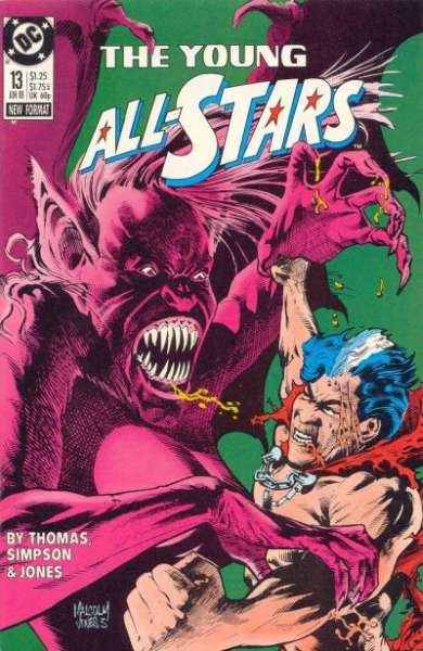 Young All-Stars #13 comic books for sale