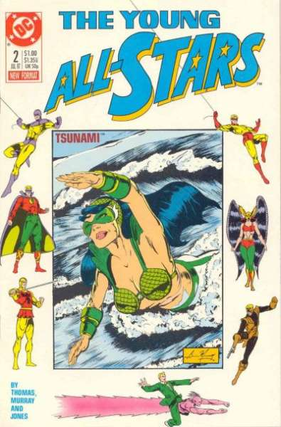 Young All-Stars #2 Comic Books - Covers, Scans, Photos  in Young All-Stars Comic Books - Covers, Scans, Gallery