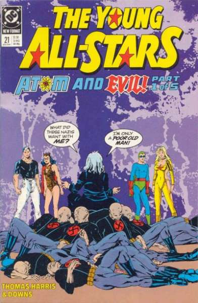 Young All-Stars #21 comic books for sale