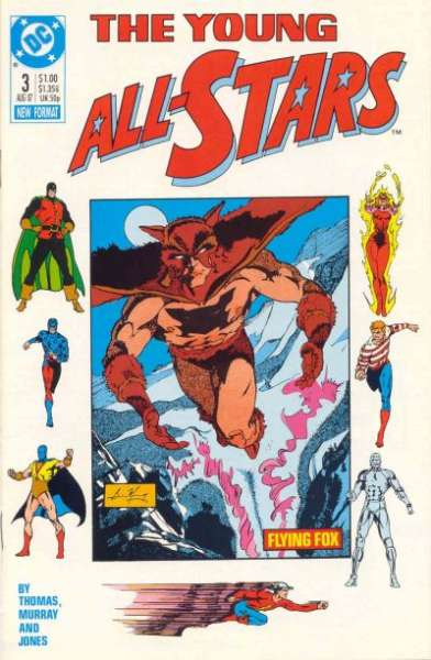 Young All-Stars #3 Comic Books - Covers, Scans, Photos  in Young All-Stars Comic Books - Covers, Scans, Gallery