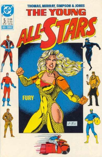Young All-Stars #5 Comic Books - Covers, Scans, Photos  in Young All-Stars Comic Books - Covers, Scans, Gallery