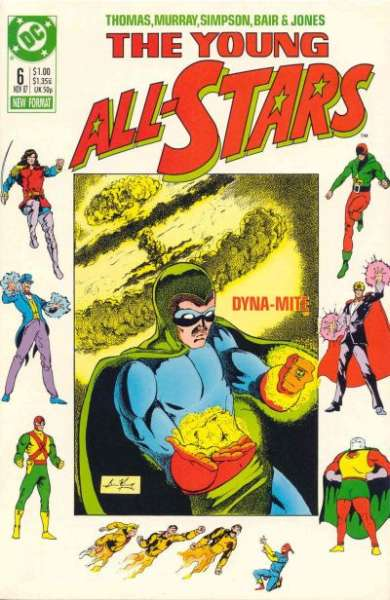 Young All-Stars #6 comic books for sale