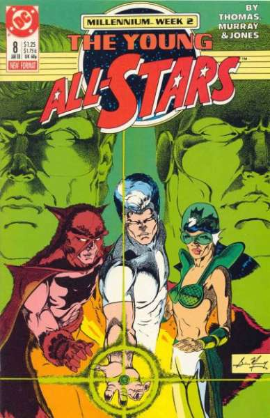 Young All-Stars #8 Comic Books - Covers, Scans, Photos  in Young All-Stars Comic Books - Covers, Scans, Gallery