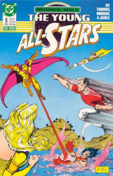 Young All-Stars #9 comic books for sale