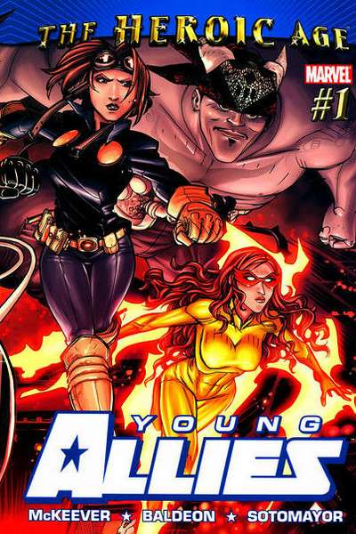 Young Allies #1 comic books - cover scans photos Young Allies #1 comic books - covers, picture gallery