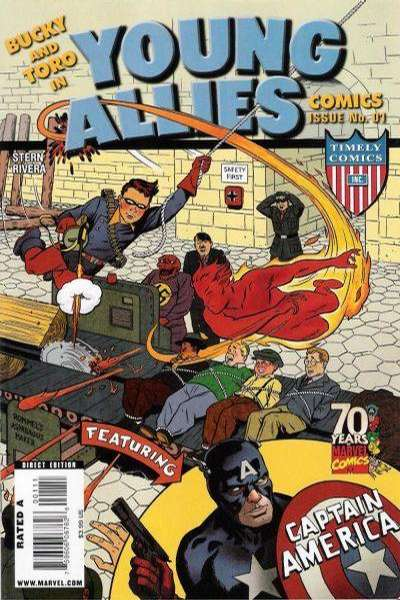 Young Allies 70th Anniversary Special #1 comic books - cover scans photos Young Allies 70th Anniversary Special #1 comic books - covers, picture gallery