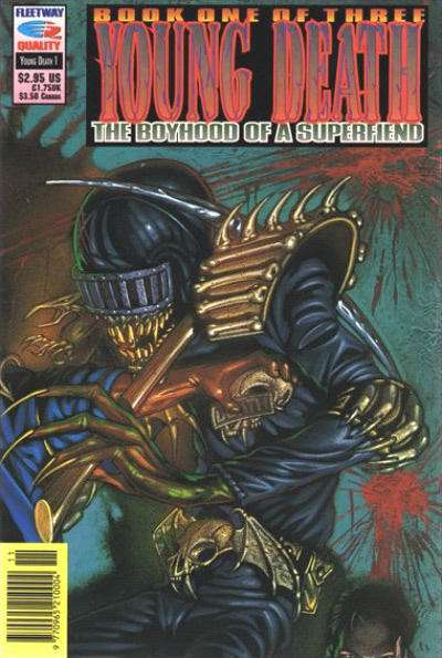 Young Death: The Boyhood of a Superfiend #1 Comic Books - Covers, Scans, Photos  in Young Death: The Boyhood of a Superfiend Comic Books - Covers, Scans, Gallery