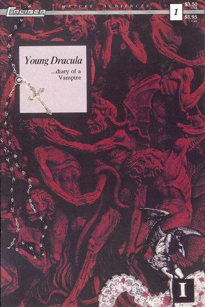 Young Dracula #1 comic books - cover scans photos Young Dracula #1 comic books - covers, picture gallery
