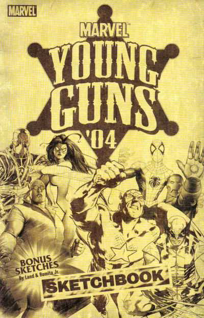 Young Guns Sketchbook '04 #1 comic books for sale